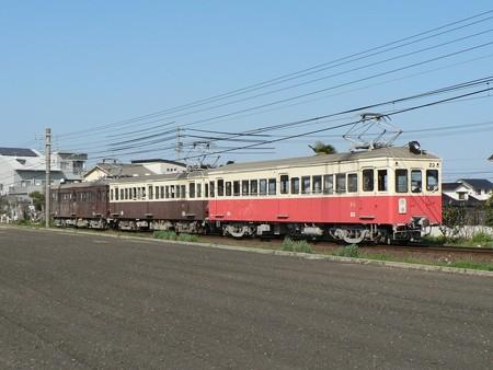高松琴平電気鉄道20形23号ほか