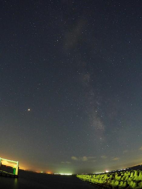 0720火星と天の川