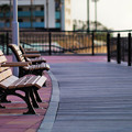Photos: 海風のベンチ