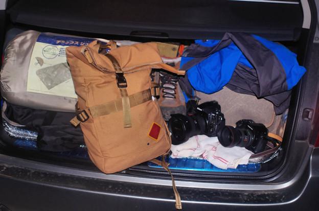 撮影旅装備