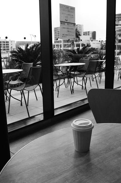 新年のカフェ