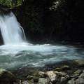 写真: 座頭滝・・前日の大雨で多量の水