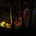 写真: ほたる橋・・湯の鶴温泉