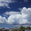 写真: 雲浮かぶ