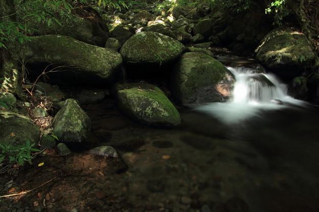 寒川水源の下流