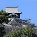 Photos: 熊本城天守閣の修復