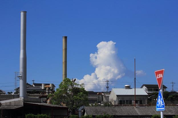 小さい入道雲
