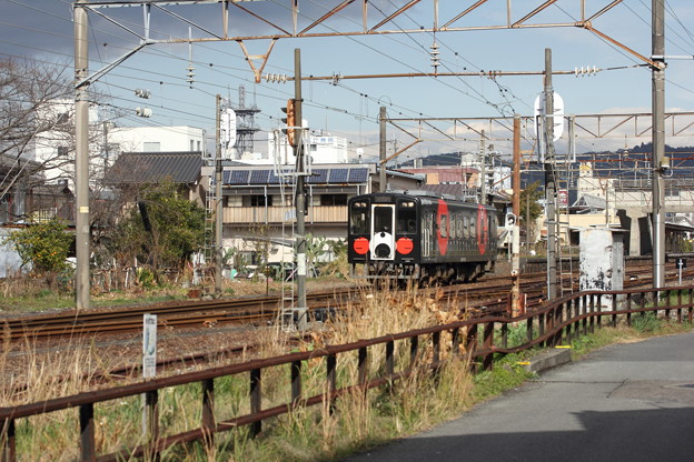 くまモン列車・・おれんじ鉄道