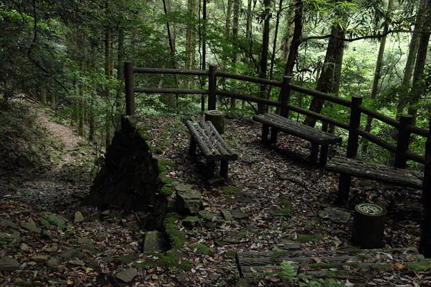 Photos: 帰り道途中の休憩所