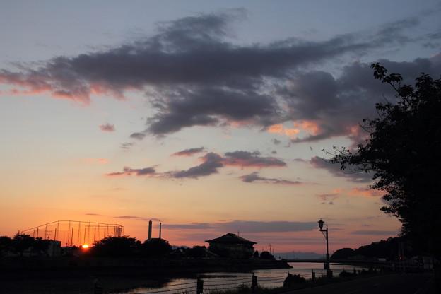 Photos: 夕焼けはだめでした