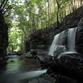 Photos: 箱滝下の段