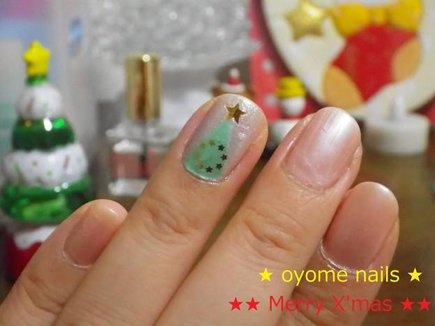 クリスマスネイル ツリー