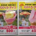 Photos: ババヘラアイス値段説明