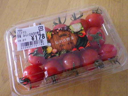 吉田さんのミニトマト