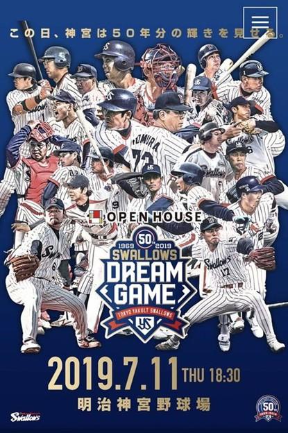Swallows DREAM GAMEポスター