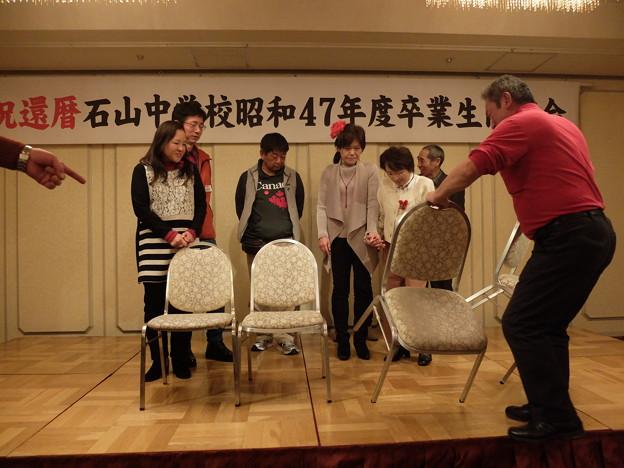 (20)4組集合写真撮影前に整列中