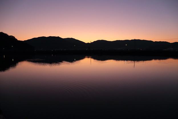 宵のため池