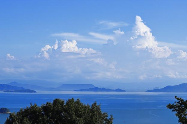 写真: 夏雲の峰