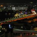写真: 港町の夜