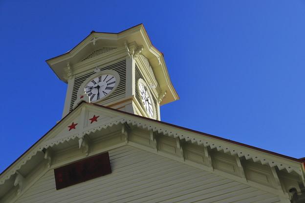 青空と時計台