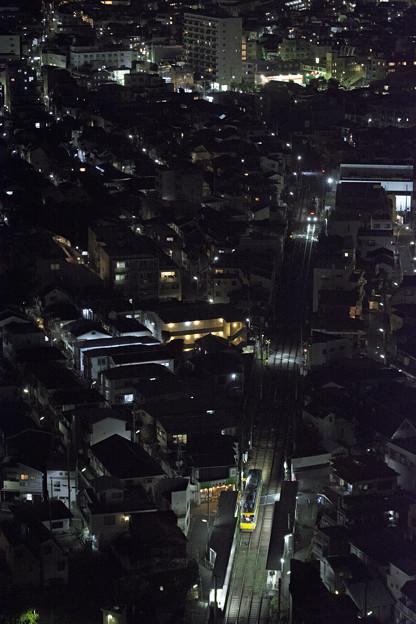 世田谷線沿線夜景