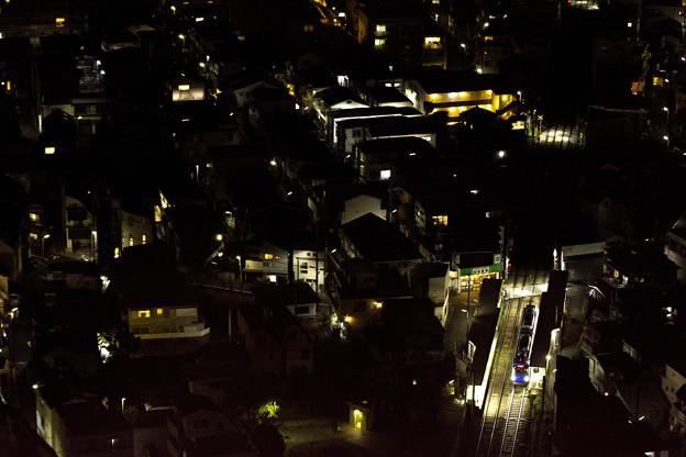 西太子堂駅前夜景
