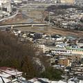 Photos: 雪残る街