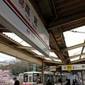写真: 駅は観桜台