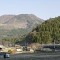 写真: 笹子峠へ