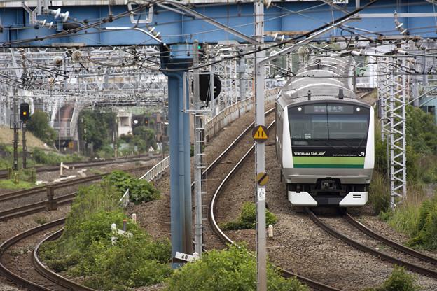 もうすぐ終点、横浜線