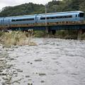 写真: 川の流れとMSE
