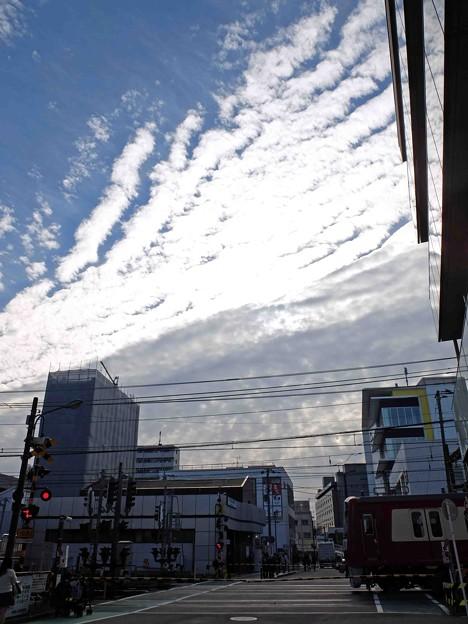 Photos: 壁の中まで続く空
