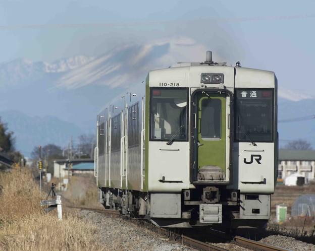 浅間山へ向かって