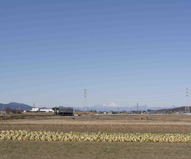 関東平野に吹く風