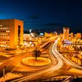 写真: 街灯り