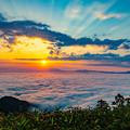 Photos: ー雲海と御来光ー