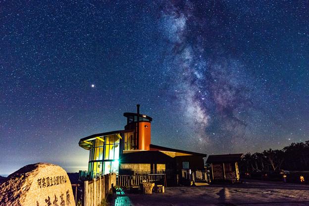ー展望台と天の川ー