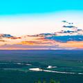 写真: ー晩秋の釧路湿原ー