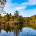 ー阿寒湖の紅葉ー