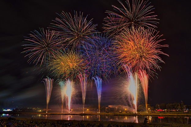 ー釧路新川花火大会ー