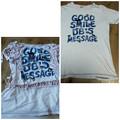 Photos: ミキハウスのTシャツリメイク