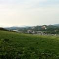 写真: 藻岩山観光道路から