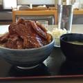 写真: 豚丼特大