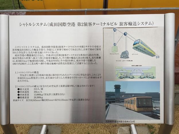 写真: 空の駅のトラム