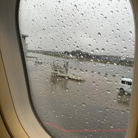 帰りの機内より
