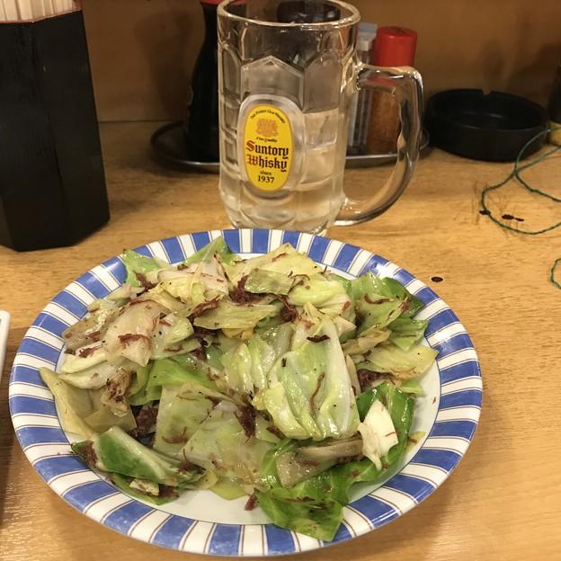 Photos: 大都会 コンビーフキャベツ炒め