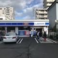 Photos: 地震4時間後のローソン