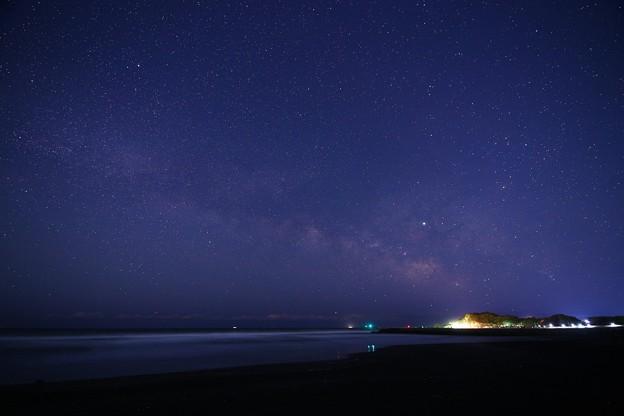 Photos: 千葉 東浪見海岸の星空