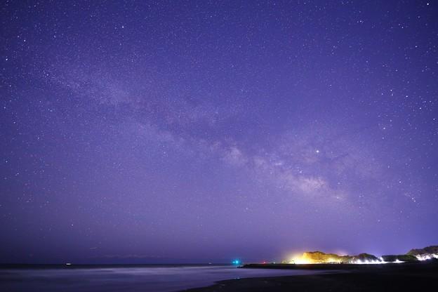 千葉 東浪見海岸の星空