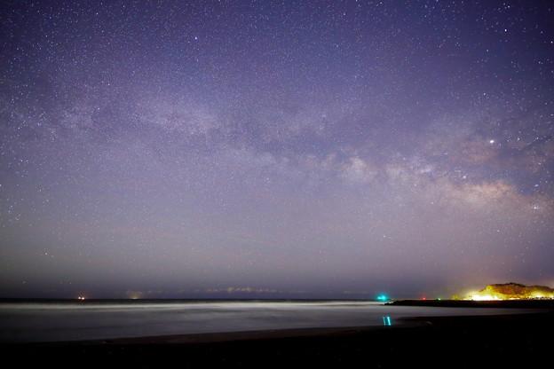 Photos: 東浪見海岸の星空 天の川ゲット